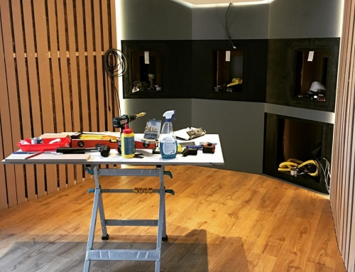 The New Studio – Work in progress